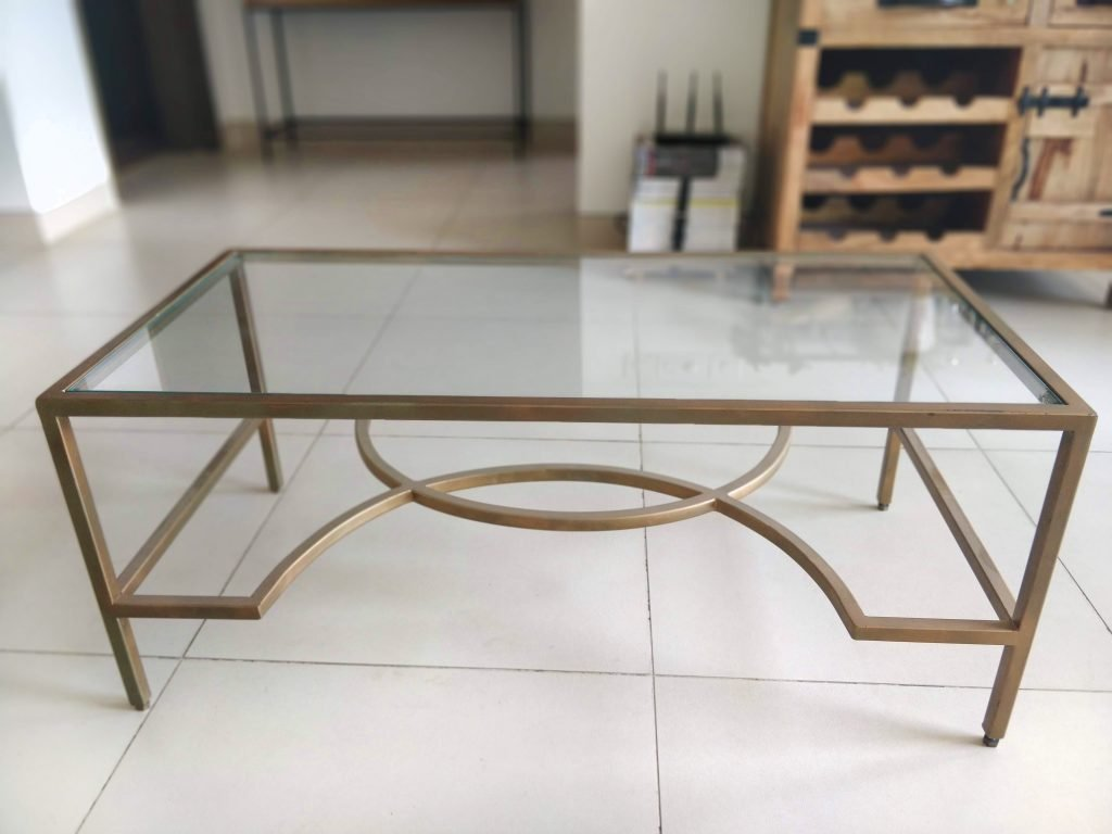 June+Walk+Design+DIY+Faux+Marble+Table+Before
